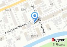 Компания «МРЭО ГИБДД МВД по Республике Алтай» на карте