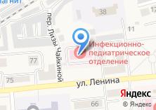 Компания «Гурьевская центральная районная больница» на карте