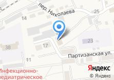 Компания «Сосновское» на карте