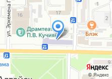 Компания «Салон тканей» на карте
