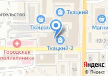 Компания «Secret» на карте