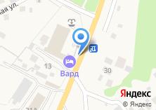 Компания «Вард» на карте