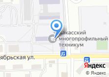 Компания «Техникум профессиональных технологий» на карте