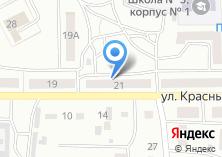 Компания «Якорь» на карте