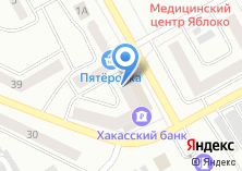 Компания «Хакасский муниципальный банк» на карте