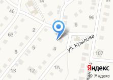 Компания «Магазин продуктов на ул. Крылова» на карте