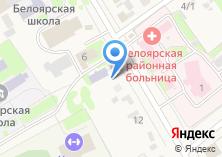 Компания «Алтайская центральная районная библиотека» на карте