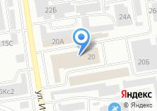 Компания «Фруктовый экспресс» на карте