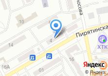 Компания «Zаноза» на карте