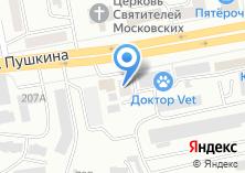 Компания «АбаканКранПрибор» на карте