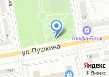 Компания «Магазин цветов на ул. Пушкина» на карте