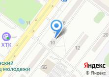 Компания «Акмейз» на карте