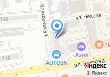 Компания «ДЭФО» на карте