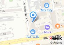 Компания «Хакасское Агентство Недвижимости» на карте