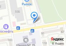 Компания «Аккумуляторные центры» на карте