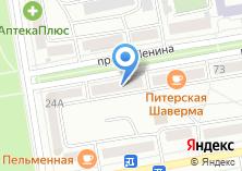 Компания «Владлена» на карте