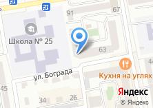 Компания «Такси» на карте