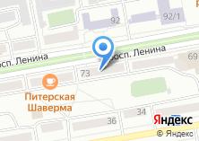 Компания «БигПринт» на карте