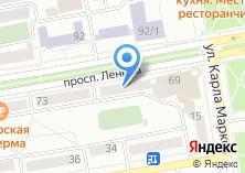 Компания «Вертикальные технологии» на карте