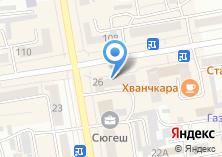 Компания «Лисья нора» на карте