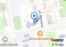 Компания «Детская художественная школа им. Д.И. Каратанова» на карте