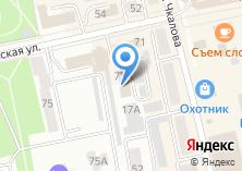 Компания «Магазин мебели и товаров для школьников на Хакасской» на карте