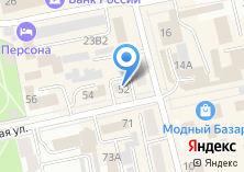 Компания «Каскад» на карте