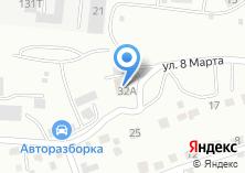 Компания «Магазин продуктов на ул. 8 Марта» на карте