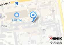 Компания «АистПлюс» на карте