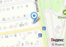 Компания «Строящееся административное здание по ул. Тельмана» на карте