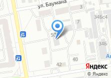 Компания «Геология Сибири» на карте