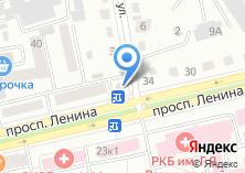 Компания «Продукты на Ленина» на карте