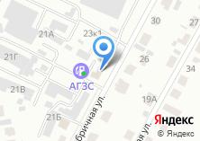 Компания «Мишлен» на карте