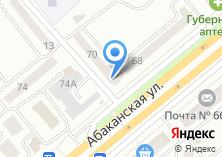 Компания «Ретро FM» на карте