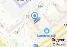 Компания «Минусинск-Коммуникации» на карте