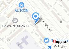 Компания «Тридцать шесть и шесть» на карте