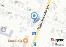 Компания «Преображенский» на карте