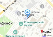 Компания «Детская художественная школа г. Минусинска» на карте