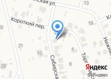 Компания «Строящийся коттеджный поселок по ул. Горизонт микрорайон (Кузнецово д)» на карте