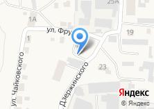 Компания «Отдел Военного комиссариата Красноярского края по Березовскому району и г. Сосновоборск» на карте