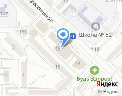 Компания Карапуз на карте города