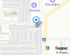 Компания FIAT АВТО на карте города