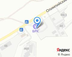 Компания АЗС БРК на карте города