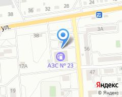 Компания АЗС Мотор Сервис Центр на карте города