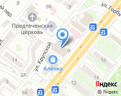 Компания Гудвин на карте города