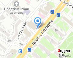 Компания Алинка на карте города