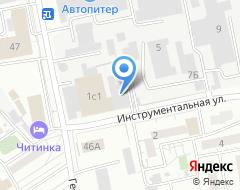 Компания АВТОЗАПАС на карте города