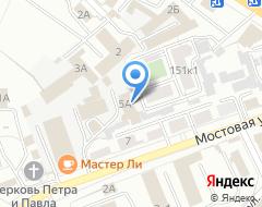 Компания АВТОЛОМБАРД МЕГАНОВ на карте города