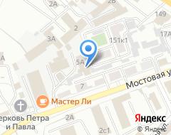 Компания Моторс на карте города
