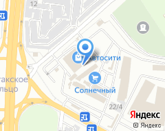 Компания ФИАТ АВТО на карте города